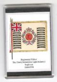 OXFORDSHIRE LIGHT INFANTRY COLOURS 1868 FRIDGE MAGNET L